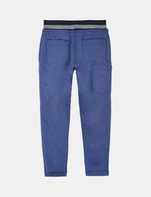 ARMANI EXCHANGE BOYS RANSOM FONT FLEECE PANTS Fleece Pant Man r