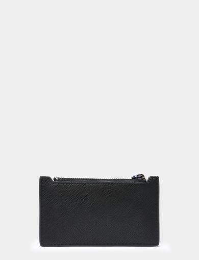 COLORBLOCKED SAFFIANO CARD CASE