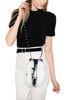 PHILOSOPHY di LORENZO SERAFINI Melody bag con piume bicolor Borsa Tracolla Donna r