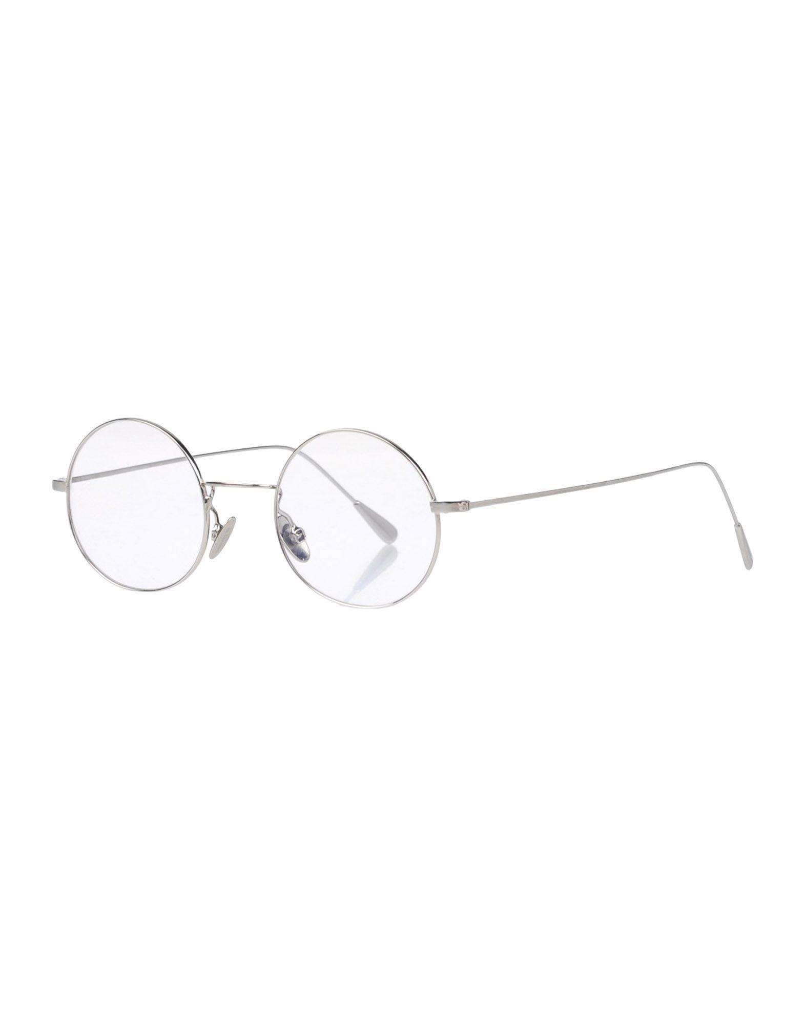 CUTLER AND GROSS Herren Brille Farbe Silber Größe 1