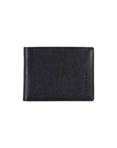 PIQUADRO メンズ 財布 ブラック 牛革