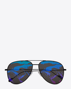 SAINT LAURENT CLASSIC E CLASSIC 193 T sunglasses in silver f