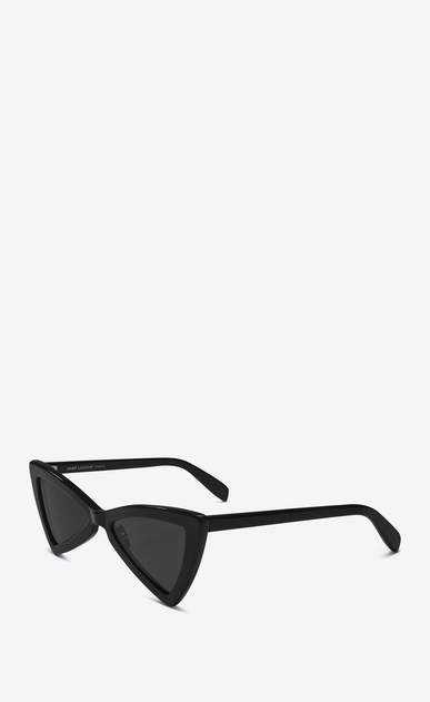 SAINT LAURENT NEW WAVE Woman NEW WAVE 207 JERRY sunglasses in black b_V4