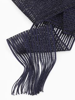 Lurex smoking scarf