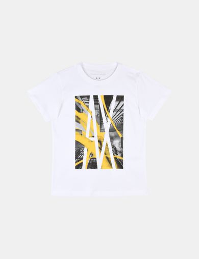 BOYS VIEW FROM BELOW CREWNECK T-SHIRT