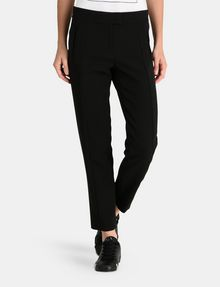 ARMANI EXCHANGE SLIM NOTCHED-WAIST TROUSERS Pant Woman f