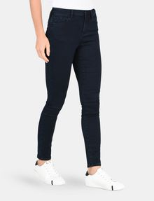 ARMANI EXCHANGE BLACKENED INDIGO SUPER SKINNY JEANS Skinny jeans Woman d