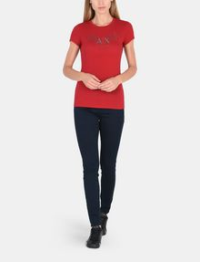 ARMANI EXCHANGE HIGH-RISE SUPER SKINNY JEANS Skinny jeans Woman a
