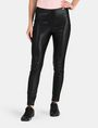 ARMANI EXCHANGE PANELED FAUX LEATHER SKINNY PANTS Hose Damen f