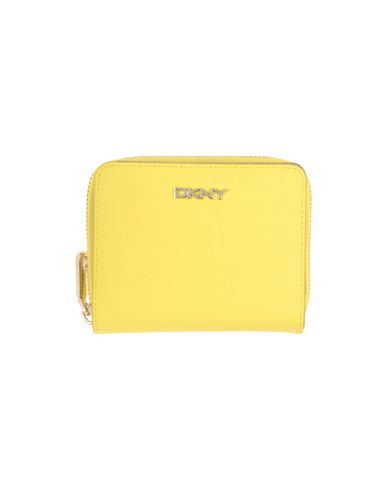 DKNY レディース 財布 イエロー 革