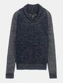 ARMANI EXCHANGE MARLED SHAWL-COLLAR SWEATER Pullover Man b
