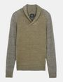 ARMANI EXCHANGE MARLED SHAWL-COLLAR SWEATER Pullover Man b