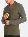 ARMANI EXCHANGE MARLED SHAWL-COLLAR SWEATER Pullover Man d