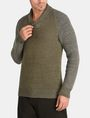 ARMANI EXCHANGE MARLED SHAWL-COLLAR SWEATER Pullover Man f