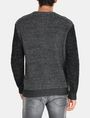 ARMANI EXCHANGE TRICOLOR MARL V-NECK SWEATER Pullover Man r