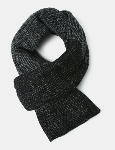 HEAVY MARL KNIT SCARF