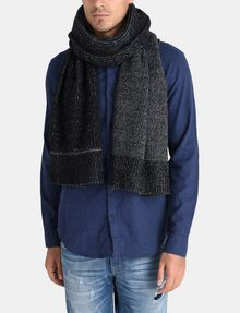 ARMANI EXCHANGE HEAVY MARL KNIT SCARF Scarf U r