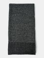 ARMANI EXCHANGE HEAVY MARL KNIT SCARF Scarf U d