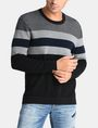 ARMANI EXCHANGE CHEST STRIPE CREWNECK SWEATER Pullover Man f
