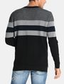 ARMANI EXCHANGE CHEST STRIPE CREWNECK SWEATER Pullover Man r