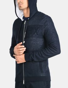 ARMANI EXCHANGE LOGO HOODIE SWEATER Layering Man d
