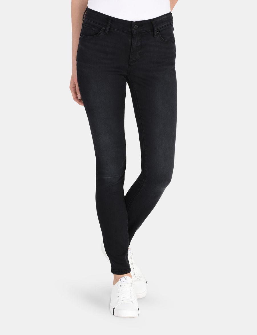Armani Exchange METALLIC TRIM SUPER SKINNY JEAN , Skinny Jeans for Women    A X Online Store 77fb91d0537