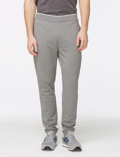 GROSGRAIN LOGO FLEECE PANT