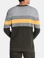 ARMANI EXCHANGE CHEST STRIPE CREWNECK SWEATER Pullover [*** pickupInStoreShippingNotGuaranteed_info ***] r