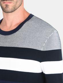 ARMANI EXCHANGE CHEST STRIPE CREWNECK SWEATER Pullover Man e