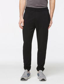 ARMANI EXCHANGE GROSGRAIN LOGO FLEECE PANT Fleece Pant Man f