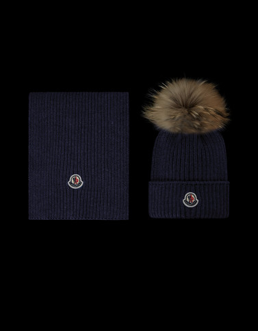 5078ceff1f54 Moncler HAT AND SCARF KIT for Woman