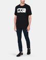 ARMANI EXCHANGE RELAXED PAINTBOX LOGO CREWNECK T-SHIRT Logo T-shirt Man a