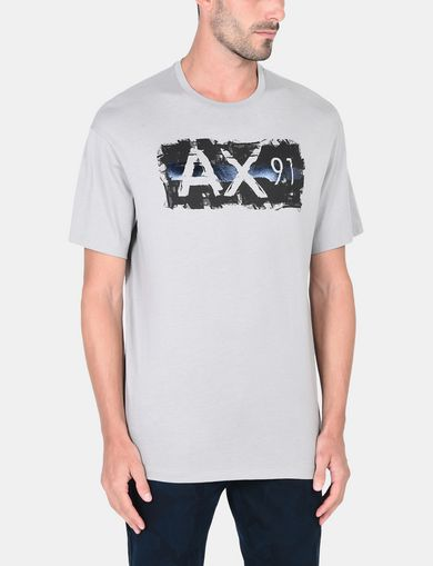 RELAXED PAINTBOX LOGO CREWNECK T-SHIRT