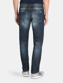 ARMANI EXCHANGE STRAIGHT FIT WHISKERED JEANS STRAIGHT FIT JEANS Man r