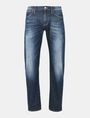 ARMANI EXCHANGE STRAIGHT FIT WHISKERED JEANS STRAIGHT FIT JEANS Man b