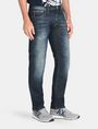 ARMANI EXCHANGE STRAIGHT FIT WHISKERED JEANS STRAIGHT FIT JEANS Man d