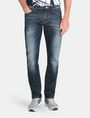 ARMANI EXCHANGE STRAIGHT FIT WHISKERED JEANS STRAIGHT FIT JEANS Man f