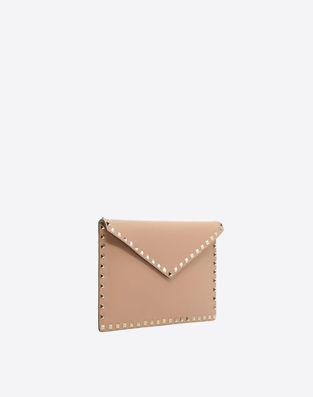 Rockstud Flat Envelope Pouch