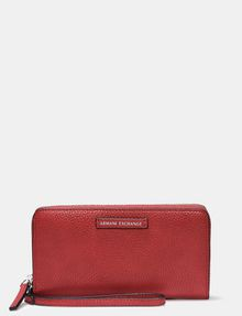ARMANI EXCHANGE WRISTLET WALLET Small Leather Good Woman f