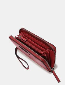 ARMANI EXCHANGE WRISTLET WALLET Small Leather Good Woman r