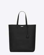 SAINT LAURENT Totes U BOLD Tote Bag in black leather f