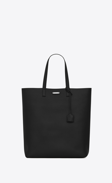 SAINT LAURENT Tote Bag Uomo bold tote bag in pelle nera a_V4