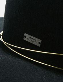 ARMANI EXCHANGE METAL TRIM WOOL HAT Hat [*** pickupInStoreShipping_info ***] d