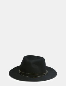 ARMANI EXCHANGE METAL TRIM WOOL HAT Hat [*** pickupInStoreShipping_info ***] f