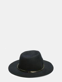 ARMANI EXCHANGE METAL TRIM WOOL HAT Hat [*** pickupInStoreShipping_info ***] r