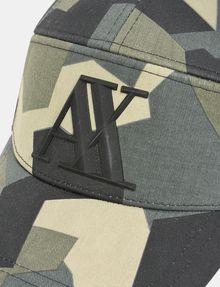 ARMANI EXCHANGE GEO CAMO 5-PANEL HAT Hat Man d