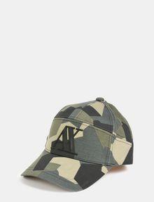 ARMANI EXCHANGE GEO CAMO 5-PANEL HAT Hat Man f