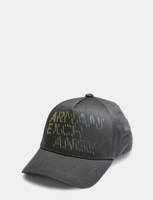ARMANI EXCHANGE CONTRAST STRIPE LOGO HAT Hat Man f