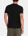 ARMANI EXCHANGE CROSSOVER PRINT LOGO T-SHIRT Logo T-shirt Man r