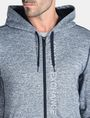 ARMANI EXCHANGE SPACE DYE TERRY HOODIE Fleece Jacket Man e